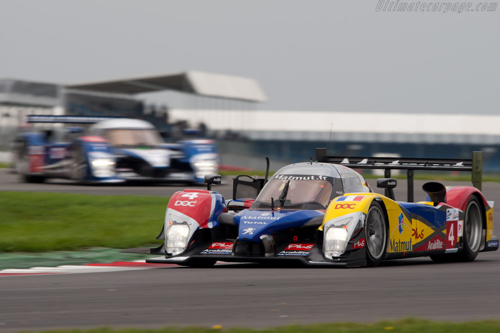 Peugeots - Chassis: 908-05  - 2010 Le Mans Series Silverstone 1000 km (ILMC)