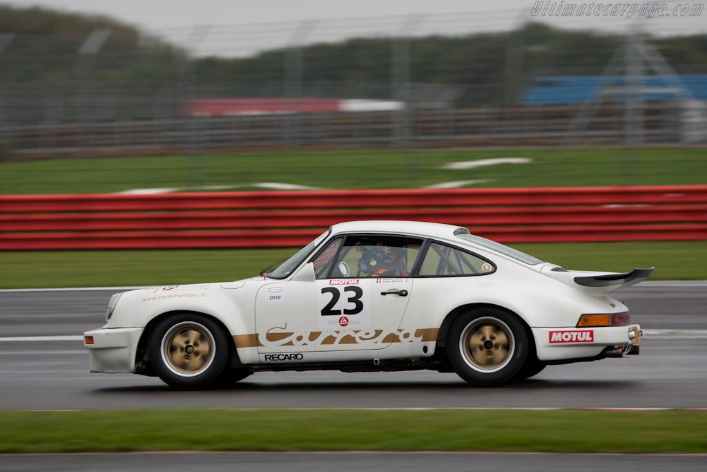 Porsche 911 Carrera RS 3.0 - Chassis: 911 460 9033   - 2010 Le Mans Series Silverstone 1000 km (ILMC)