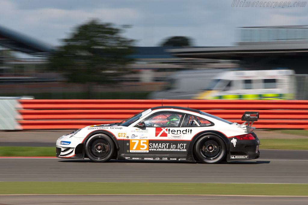 Porsche 997 GT3 RSR - Chassis: WP0ZZZ99Z8S799928   - 2010 Le Mans Series Silverstone 1000 km (ILMC)
