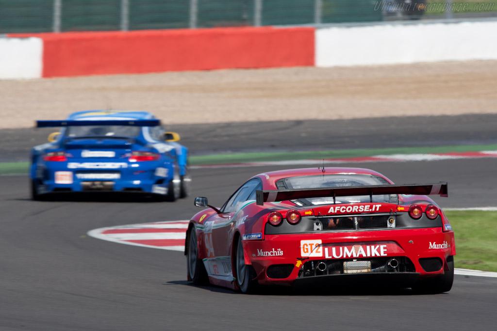 Porsche vs Ferrari - Chassis: 2624   - 2010 Le Mans Series Silverstone 1000 km (ILMC)