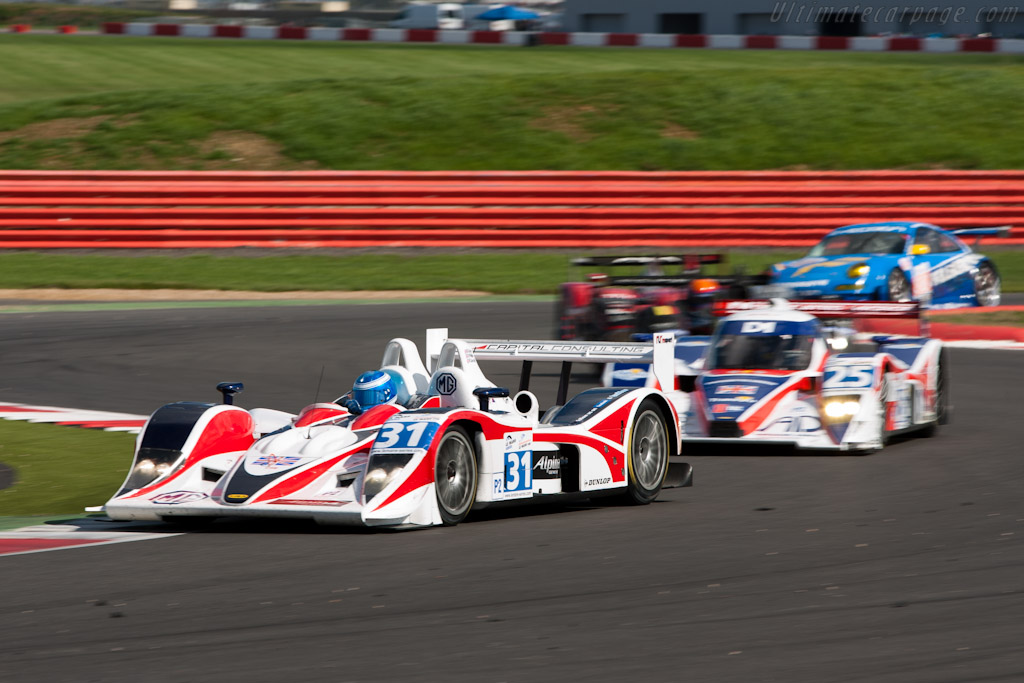 RML's old and new Lola - Chassis: B0540-HU05   - 2010 Le Mans Series Silverstone 1000 km (ILMC)