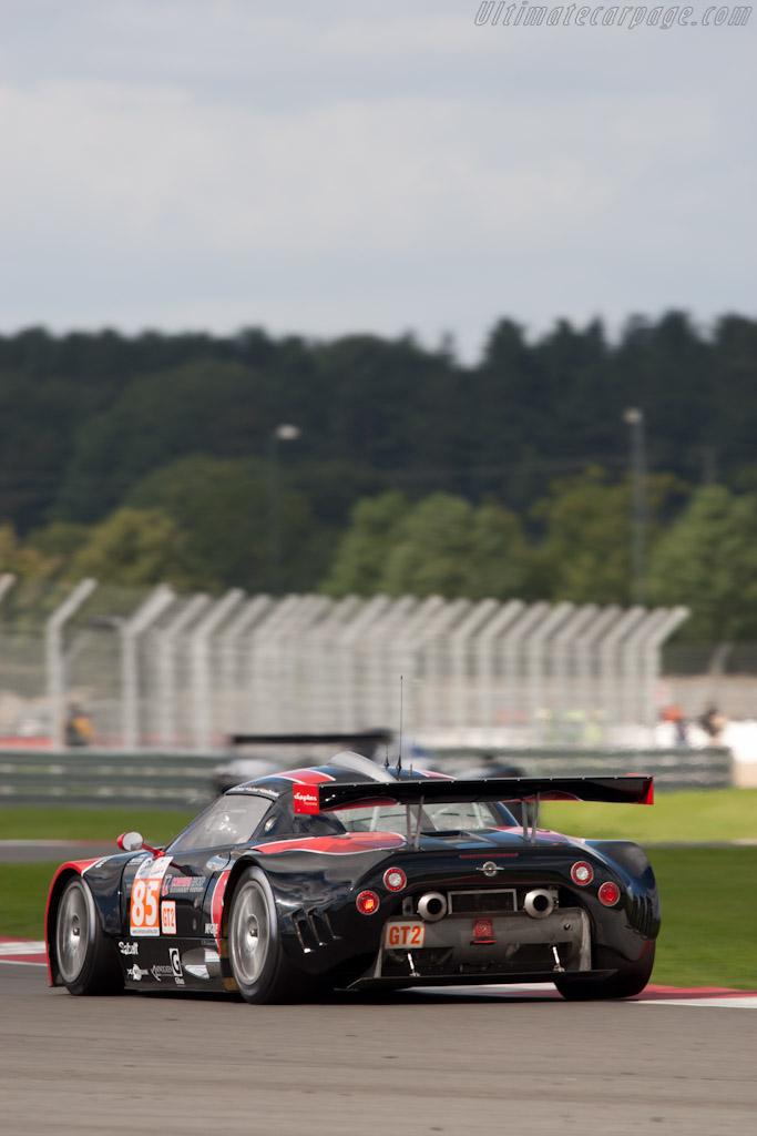 Spyker C8 Laviolette GT2-R - Chassis: XL9AB01G37Z363190   - 2010 Le Mans Series Silverstone 1000 km (ILMC)