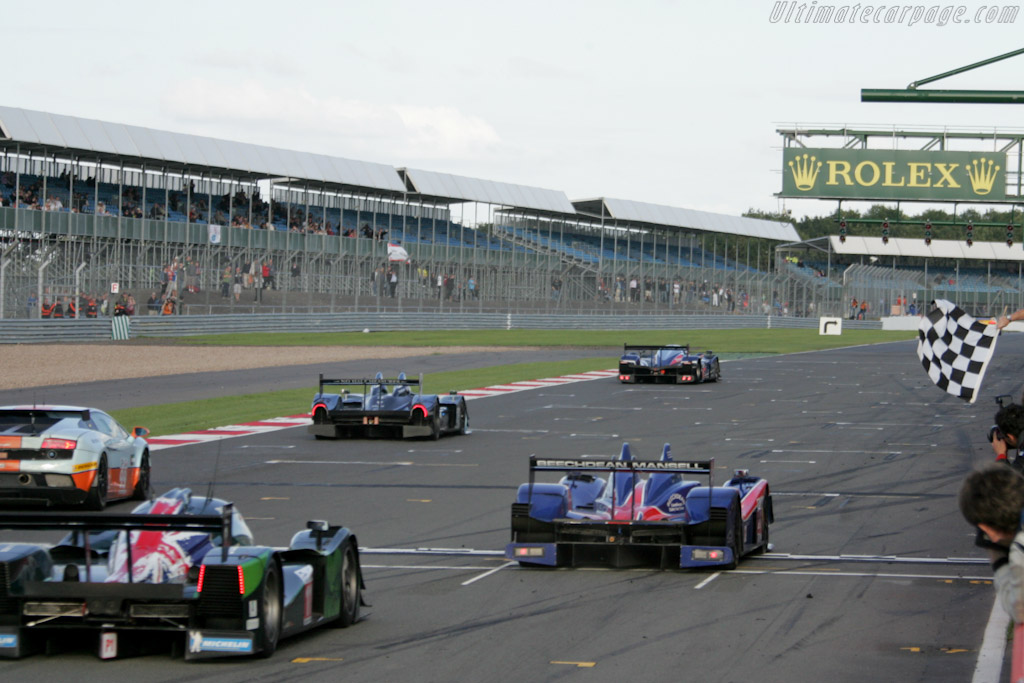 The finish - Chassis: 09S-04   - 2010 Le Mans Series Silverstone 1000 km (ILMC)