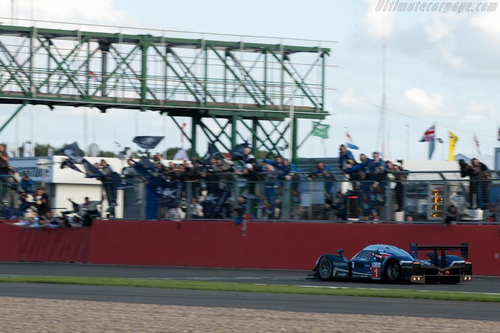 The finish    - 2010 Le Mans Series Silverstone 1000 km (ILMC)