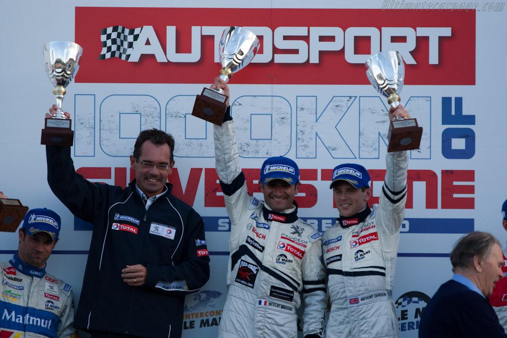 The winners    - 2010 Le Mans Series Silverstone 1000 km (ILMC)