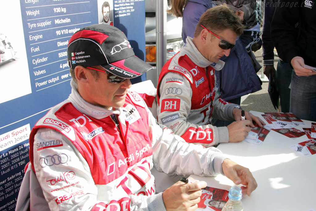 Tom Kristensen and Allan McNish    - 2010 Le Mans Series Silverstone 1000 km (ILMC)