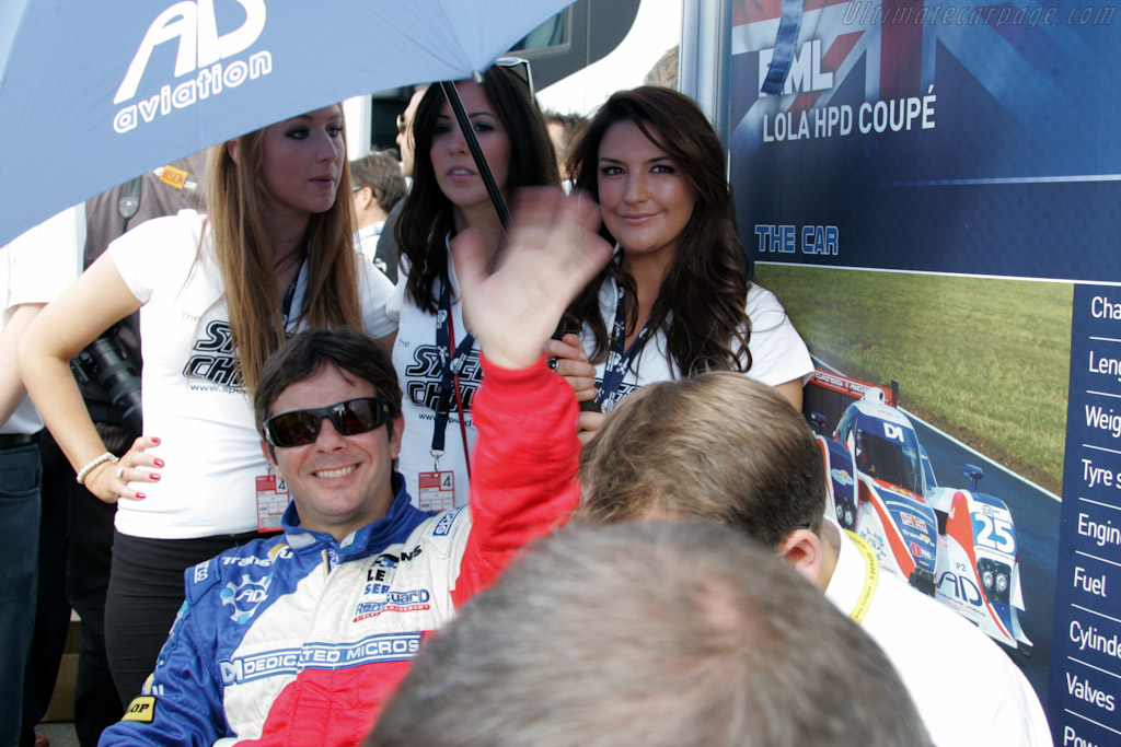 Tommy Erdos    - 2010 Le Mans Series Silverstone 1000 km (ILMC)
