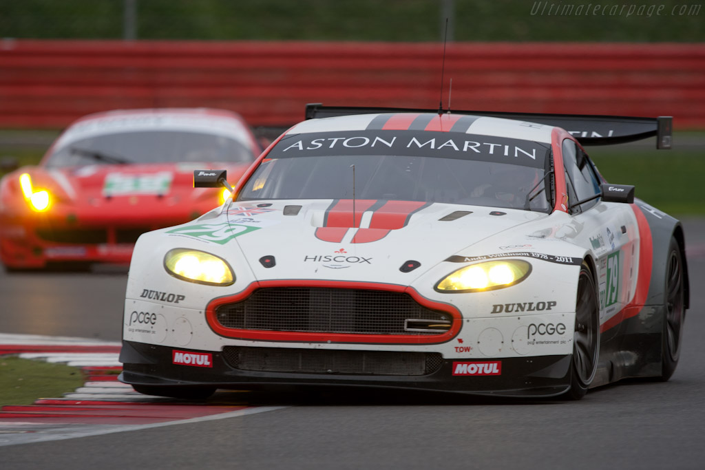Aston Martin V8 Vantage GT2 - Chassis: GT2/008  - 2011 Le Mans Series 6 Hours of Silverstone (ILMC)