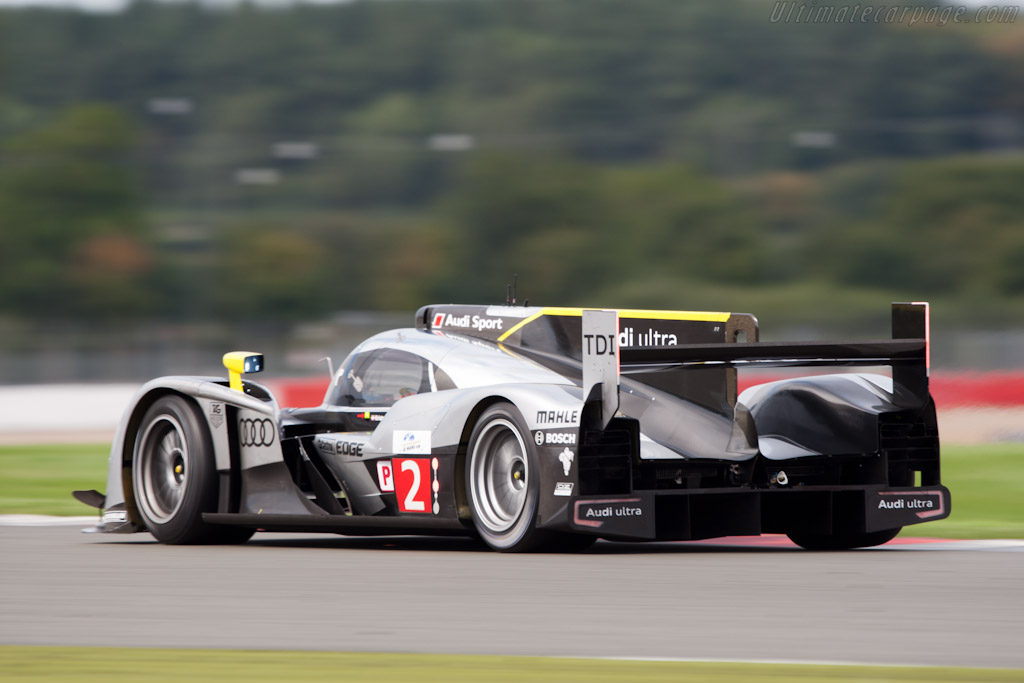 Audi R18 TDI - Chassis: 107  - 2011 Le Mans Series 6 Hours of Silverstone (ILMC)