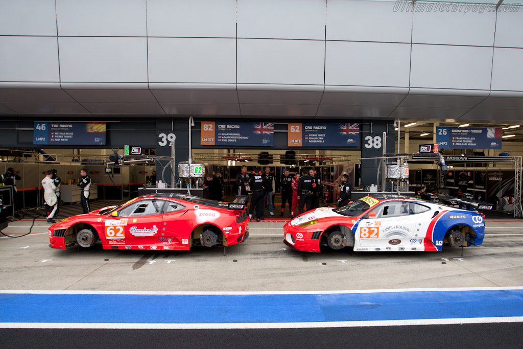 CRS Ferraris - Chassis: 2618  - 2011 Le Mans Series 6 Hours of Silverstone (ILMC)