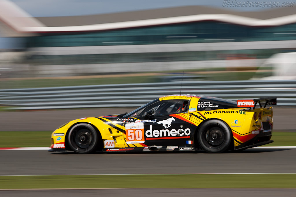 Chevrolet Corvette GT2 - Chassis: 001   - 2011 Le Mans Series 6 Hours of Silverstone (ILMC)