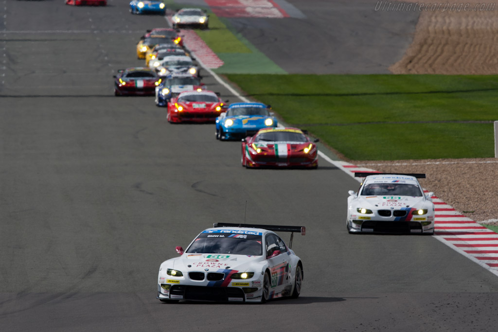 Early GTE Pro leaders - Chassis: 1106   - 2011 Le Mans Series 6 Hours of Silverstone (ILMC)