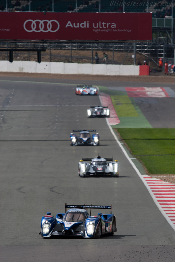 Early leaders   - 2011 Le Mans Series 6 Hours of Silverstone (ILMC)