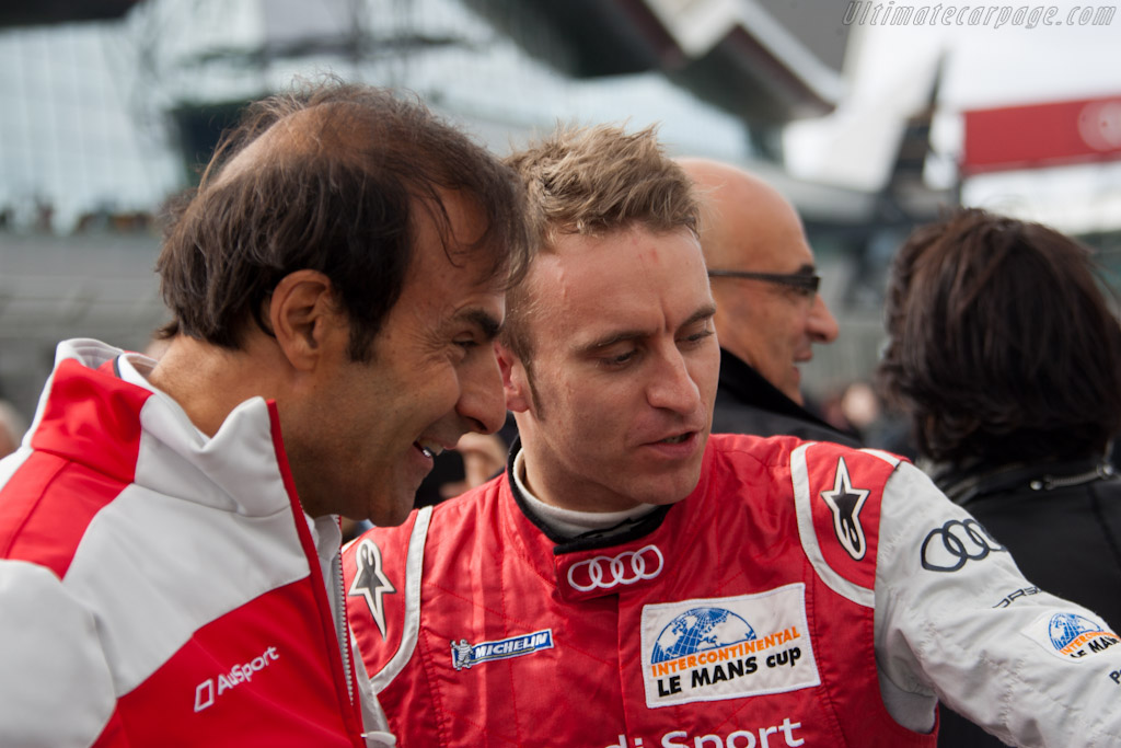 Emmanuele Pirro and Timo Bernhard    - 2011 Le Mans Series 6 Hours of Silverstone (ILMC)