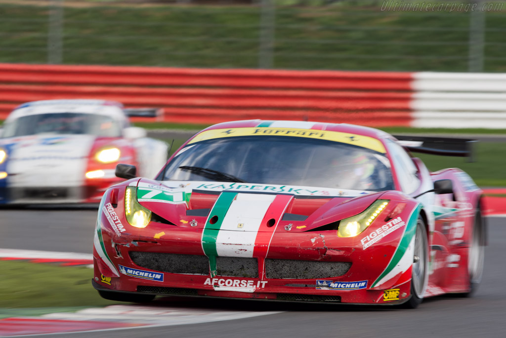Ferrari 458 Italia GT - Chassis: 2822   - 2011 Le Mans Series 6 Hours of Silverstone (ILMC)