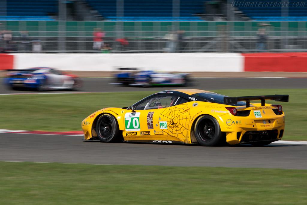 Ferrari 458 Italia GT - Chassis: 2802   - 2011 Le Mans Series 6 Hours of Silverstone (ILMC)