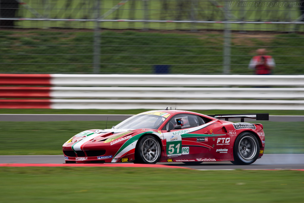 Ferrari 458 Italia GT - Chassis: 2826   - 2011 Le Mans Series 6 Hours of Silverstone (ILMC)