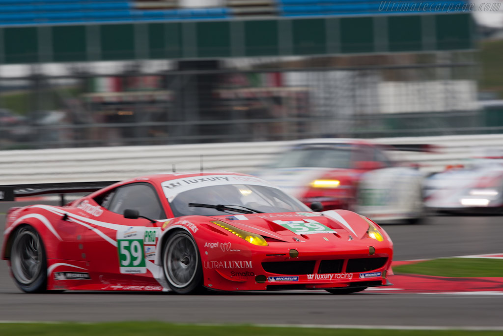Ferrari 458 Italia GT - Chassis: 2832   - 2011 Le Mans Series 6 Hours of Silverstone (ILMC)