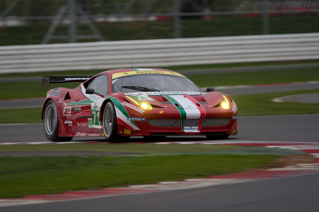Ferrari 458 Italia GT - Chassis: 2822   - 2011 Le Mans Series 6 Hours of Silverstone (ILMC)