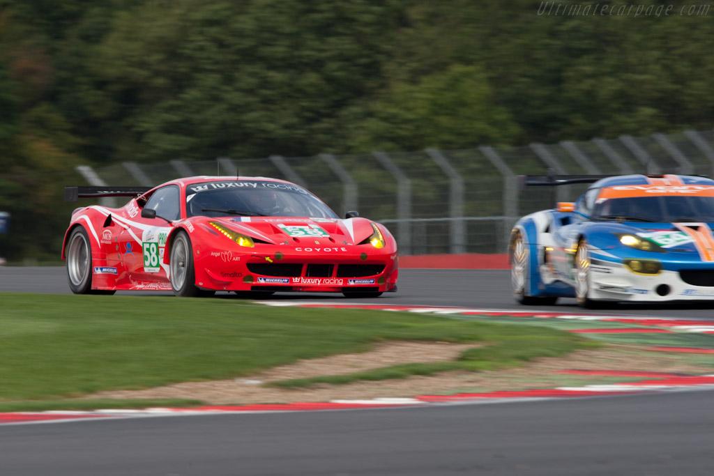 Ferrari 458 Italia GT - Chassis: 2834  - 2011 Le Mans Series 6 Hours of Silverstone (ILMC)