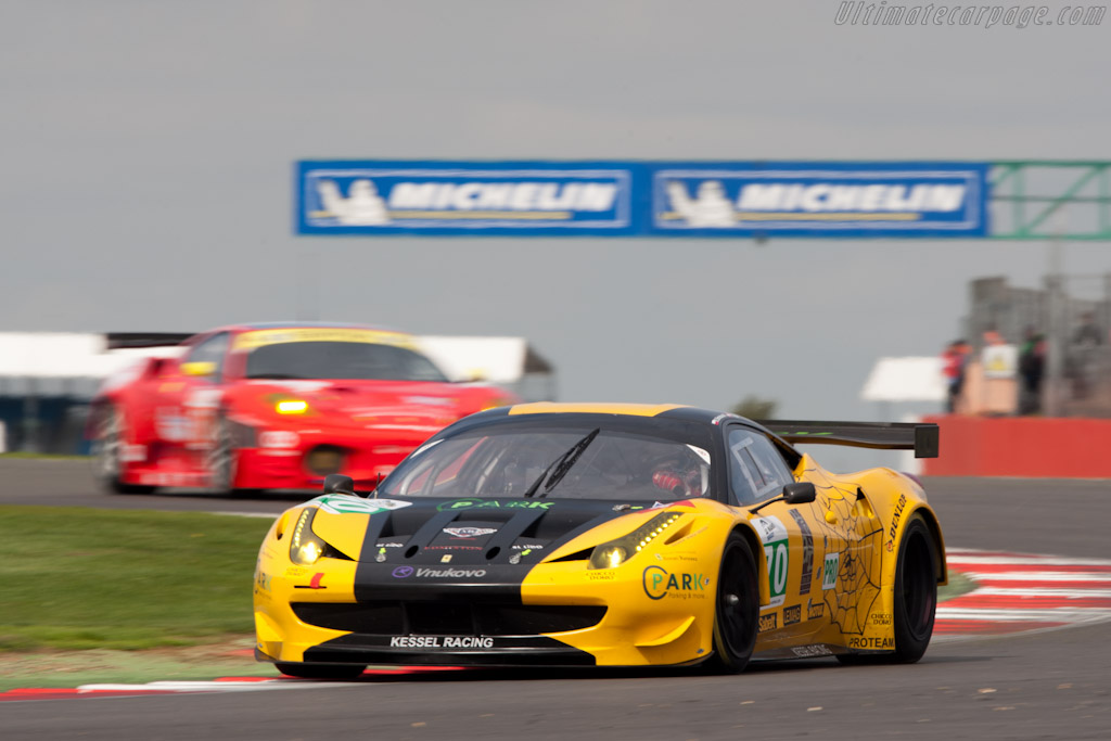 Ferrari 458 Italia GT - Chassis: 2802   - 2011 Le Mans Series 6 Hours of Silverstone (ILMC)