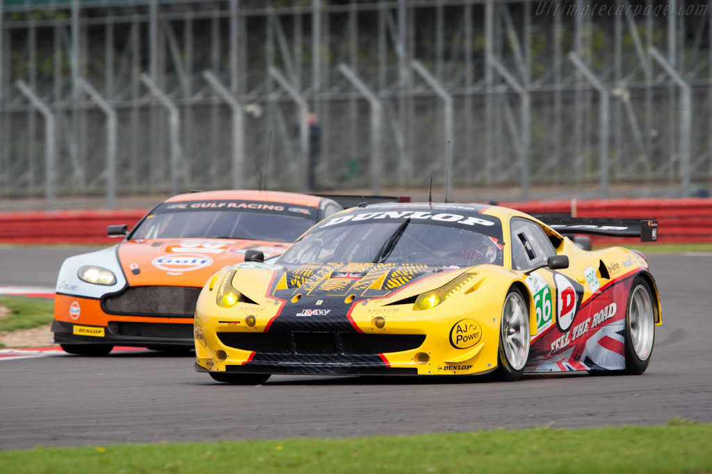 Ferrari 458 Italia GT - Chassis: 2808   - 2011 Le Mans Series 6 Hours of Silverstone (ILMC)