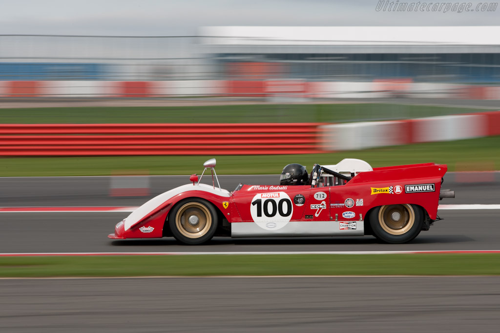 Ferrari 712 Can-Am - Chassis: 1010 - Driver: Paul Knapfield  - 2011 Le Mans Series 6 Hours of Silverstone (ILMC)