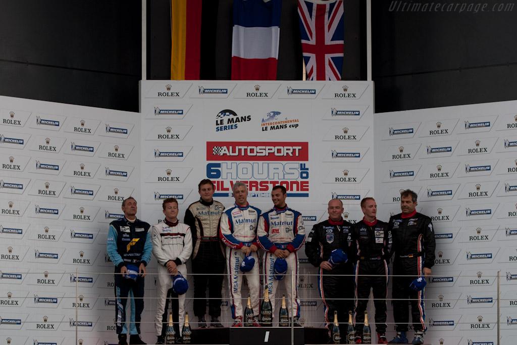 GTE Am podium    - 2011 Le Mans Series 6 Hours of Silverstone (ILMC)