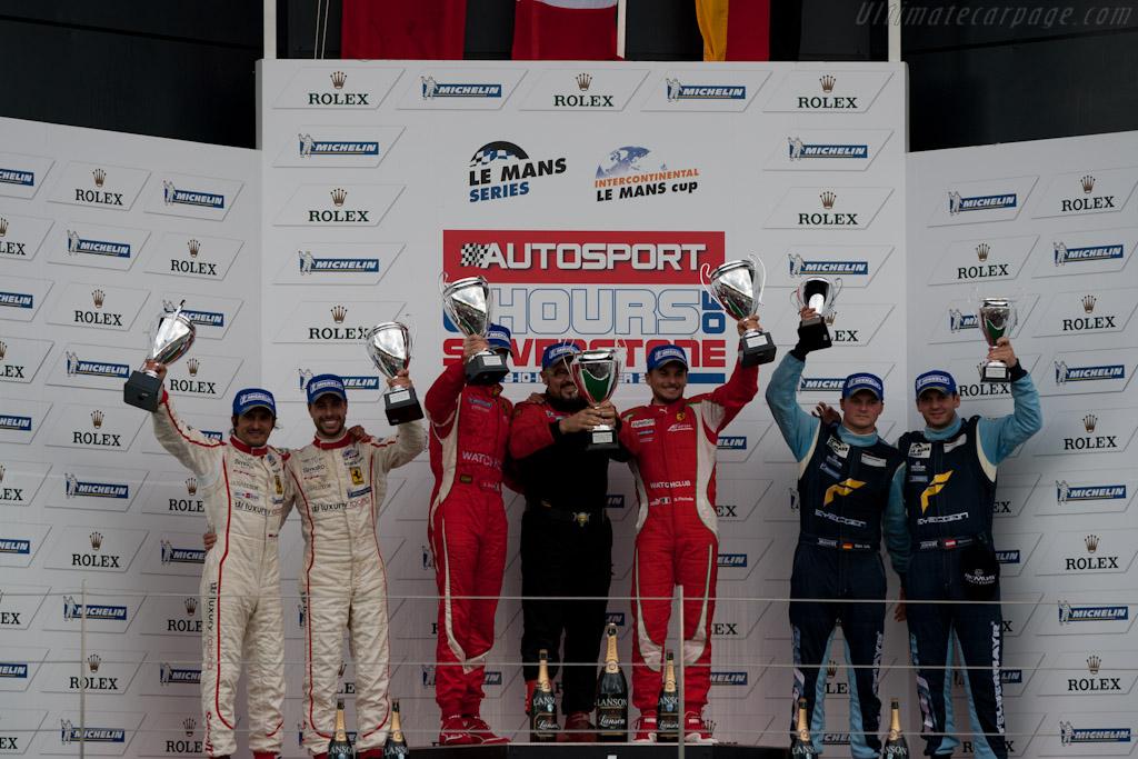 GTE Pro podium   - 2011 Le Mans Series 6 Hours of Silverstone (ILMC)