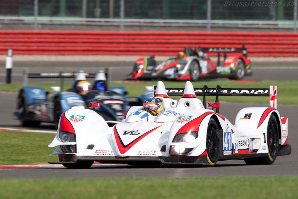 LMP2 leaders - Chassis: Z11SN-03   - 2011 Le Mans Series 6 Hours of Silverstone (ILMC)