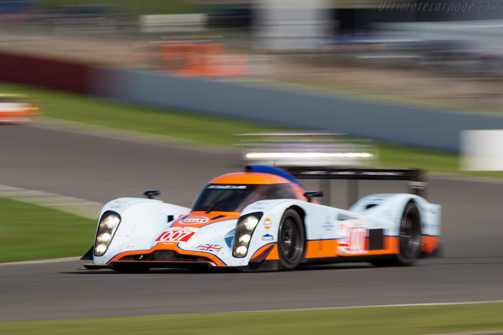 Lola-Aston Martin B09/60 - Chassis: B0960-HU02S  - 2011 Le Mans Series 6 Hours of Silverstone (ILMC)