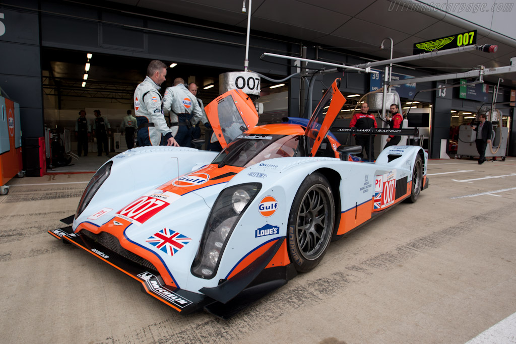 Lola-Aston Martin B09/60 - Chassis: B0960-HU02S   - 2011 Le Mans Series 6 Hours of Silverstone (ILMC)
