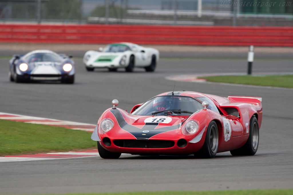 Lola T70 Mk3 - Chassis: SL73/110 - Driver: Bernard Thuner  - 2011 Le Mans Series 6 Hours of Silverstone (ILMC)