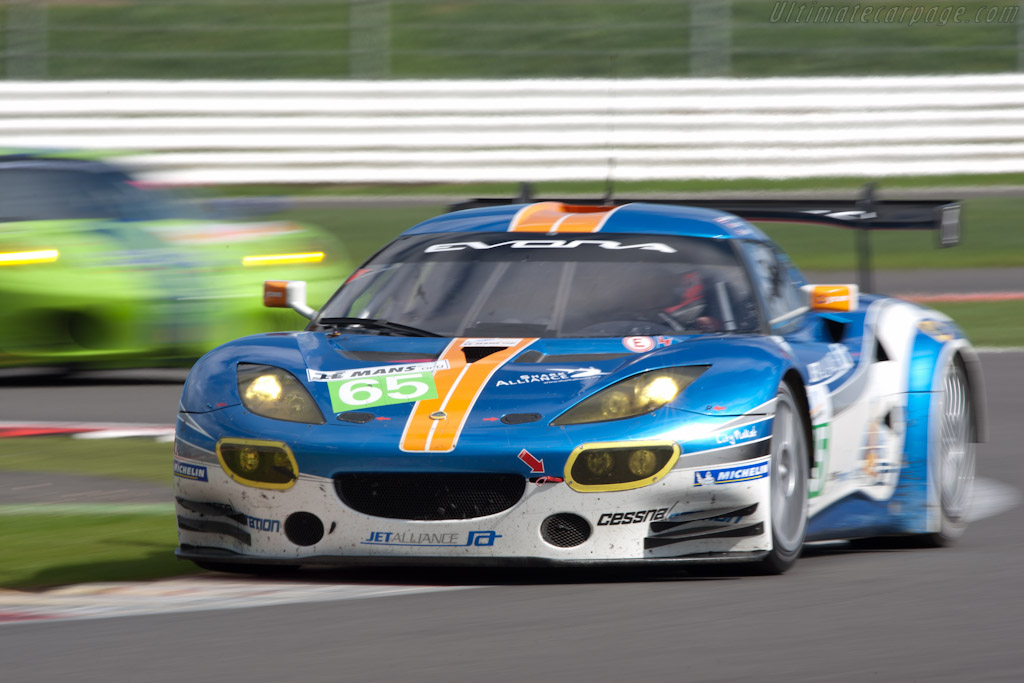 Lotus Evora GTE - Chassis: C001-001  - 2011 Le Mans Series 6 Hours of Silverstone (ILMC)