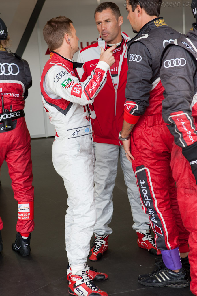 McNish and Kristensen    - 2011 Le Mans Series 6 Hours of Silverstone (ILMC)