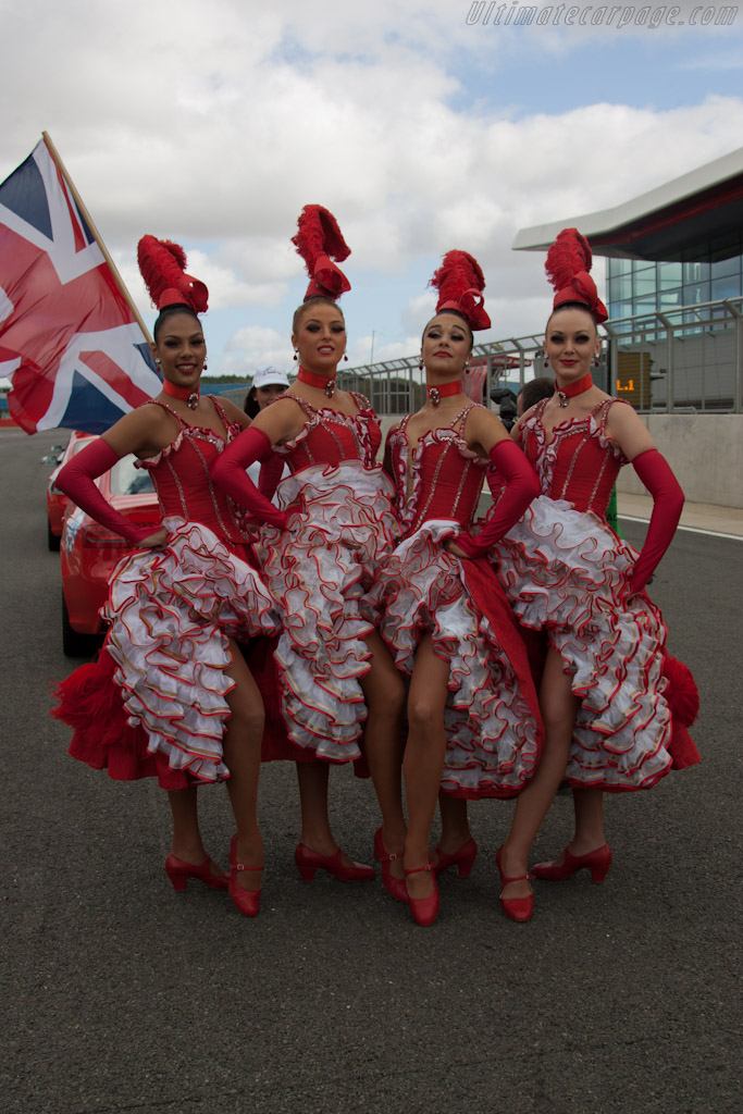 Moulin Rouge Girls   - 2011 Le Mans Series 6 Hours of Silverstone (ILMC)