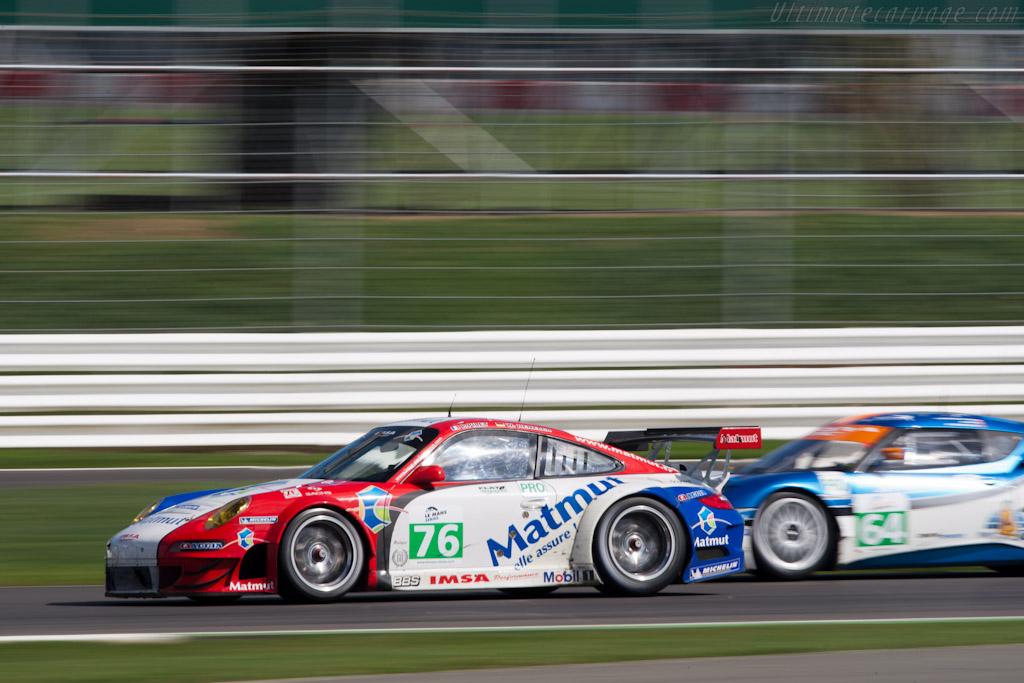 Porsche 997 GT3 RSR - Chassis: WP0ZZZ99Z9S799915  - 2011 Le Mans Series 6 Hours of Silverstone (ILMC)