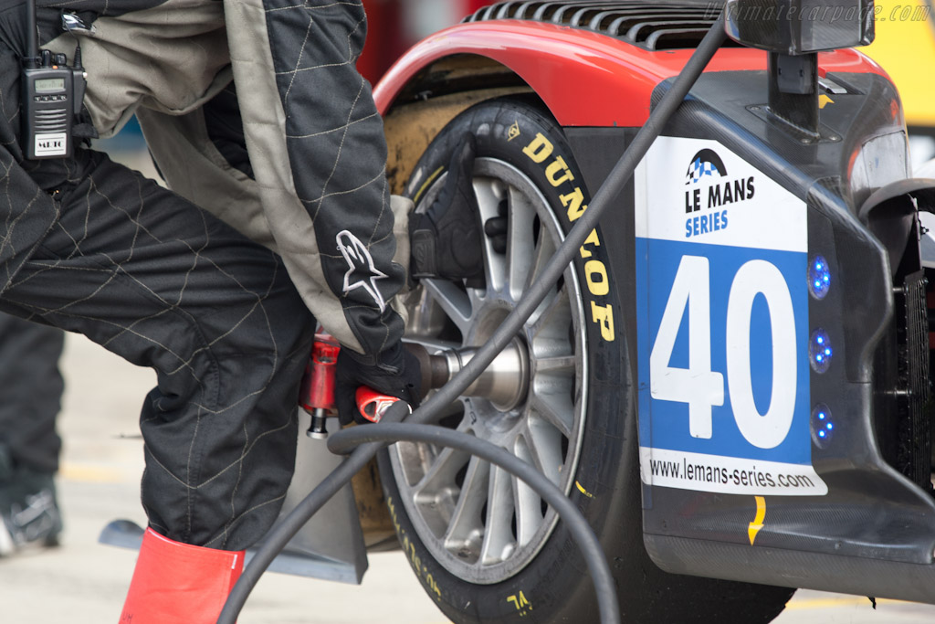 Race Performance stop - Chassis: 02   - 2011 Le Mans Series 6 Hours of Silverstone (ILMC)