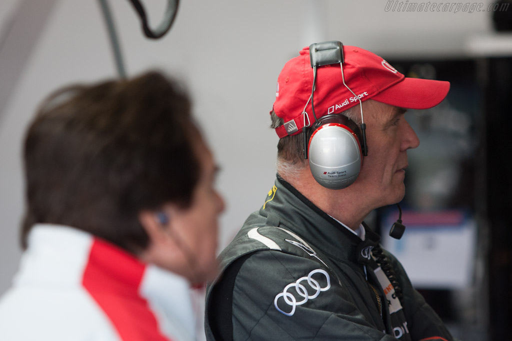 Reinhold Joest and Dr. Wolfgang Ulrich   - 2011 Le Mans Series 6 Hours of Silverstone (ILMC)