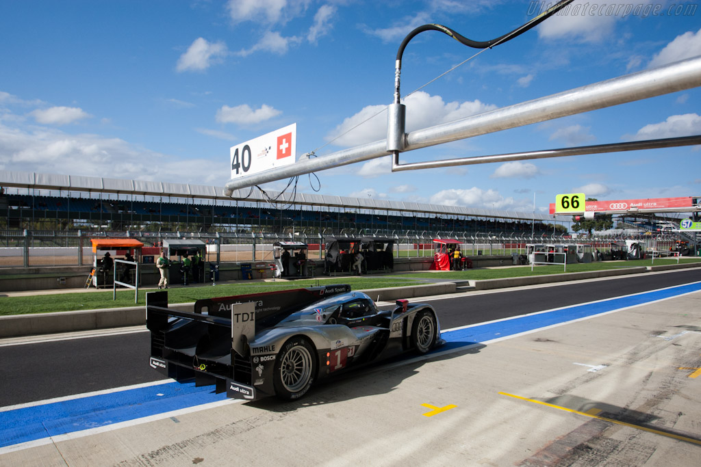 Repaired Audi - Chassis: 103   - 2011 Le Mans Series 6 Hours of Silverstone (ILMC)