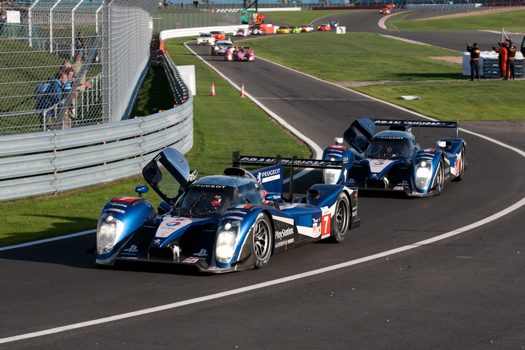 The two Peugeots    - 2011 Le Mans Series 6 Hours of Silverstone (ILMC)