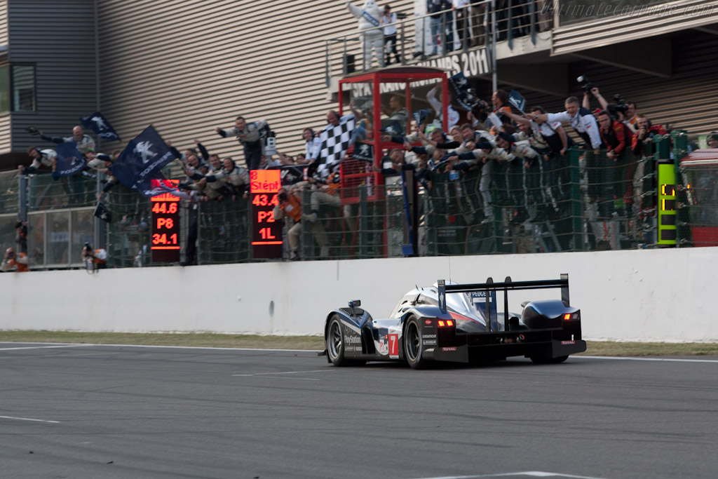 Across the line - Chassis: 908-04   - 2011 Le Mans Series Spa 1000 km (ILMC)