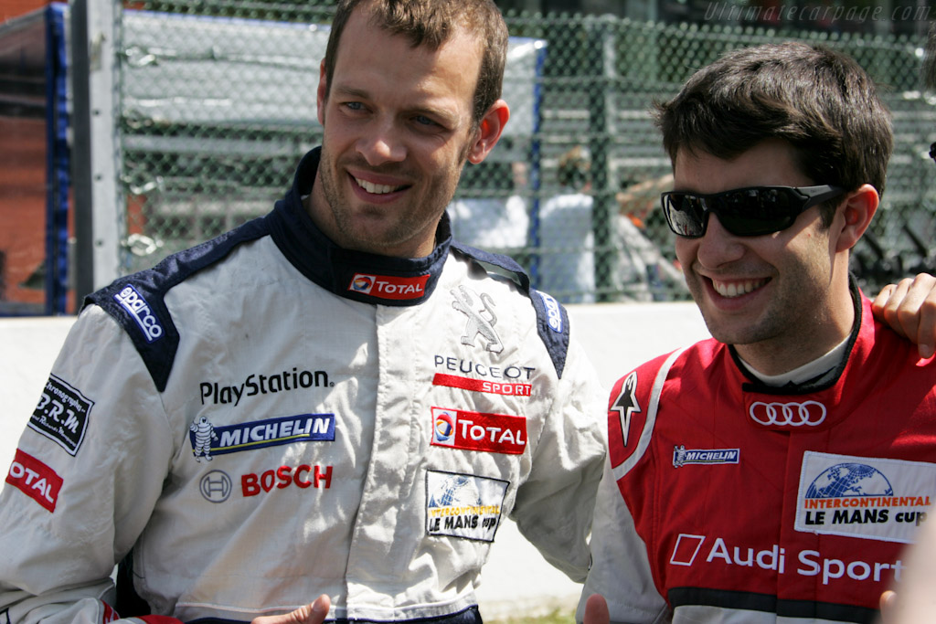 Alexander Wurz and Mike Rockenfeller    - 2011 Le Mans Series Spa 1000 km (ILMC)
