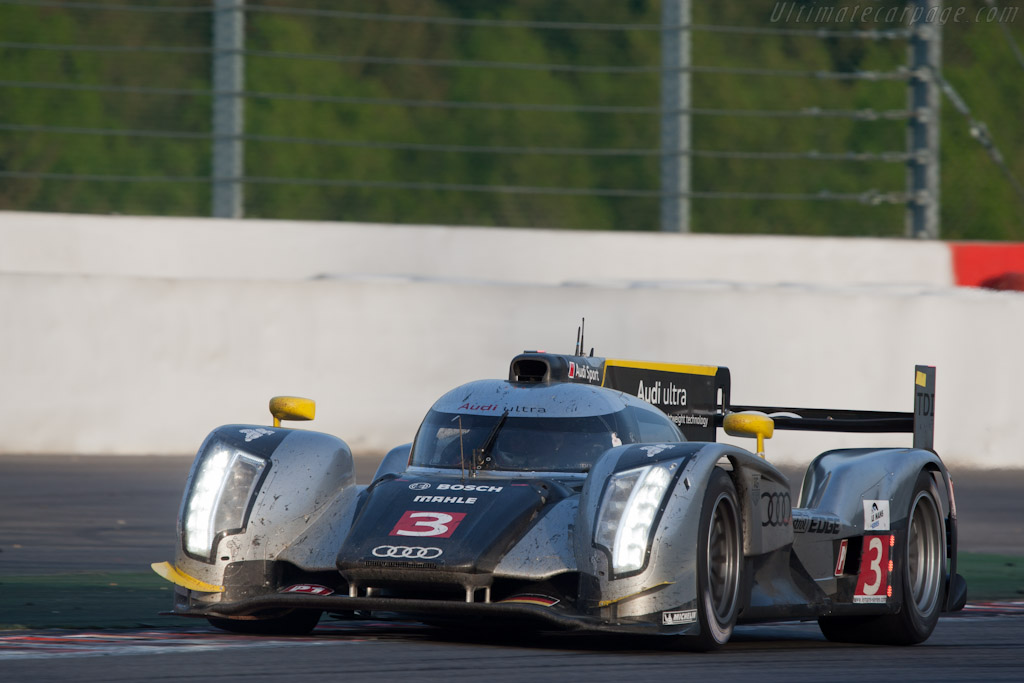 Audi R18 TDI - Chassis: 105   - 2011 Le Mans Series Spa 1000 km (ILMC)