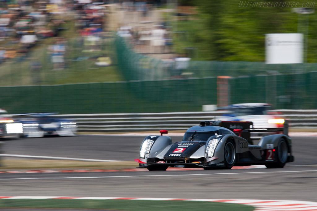 Audi R18 TDI - Chassis: 106  - 2011 Le Mans Series Spa 1000 km (ILMC)