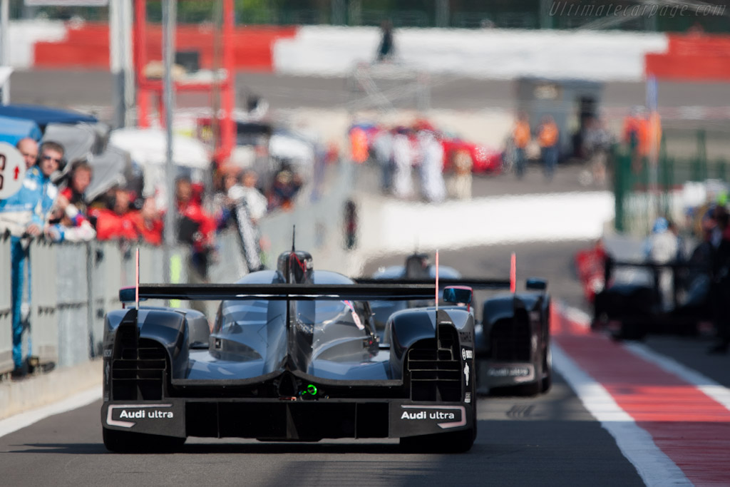Audi R18 Tdi Chassis 104 2011 Le Mans Series Spa 1000