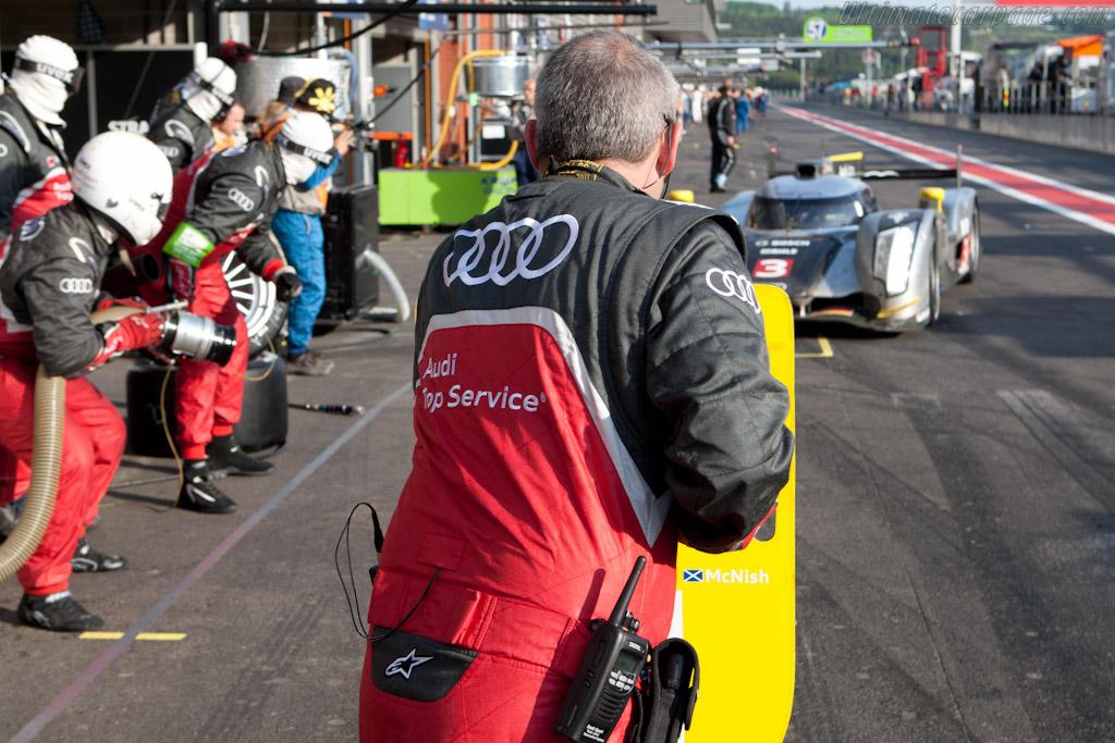Audi Stop    - 2011 Le Mans Series Spa 1000 km (ILMC)