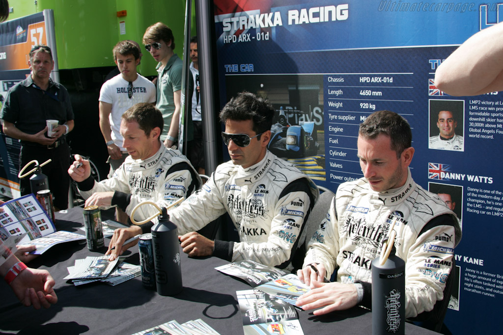 Autograph Session    - 2011 Le Mans Series Spa 1000 km (ILMC)