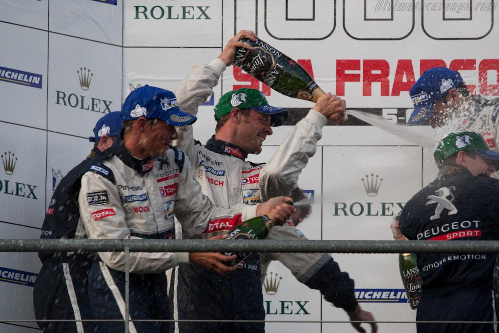Champagne!    - 2011 Le Mans Series Spa 1000 km (ILMC)