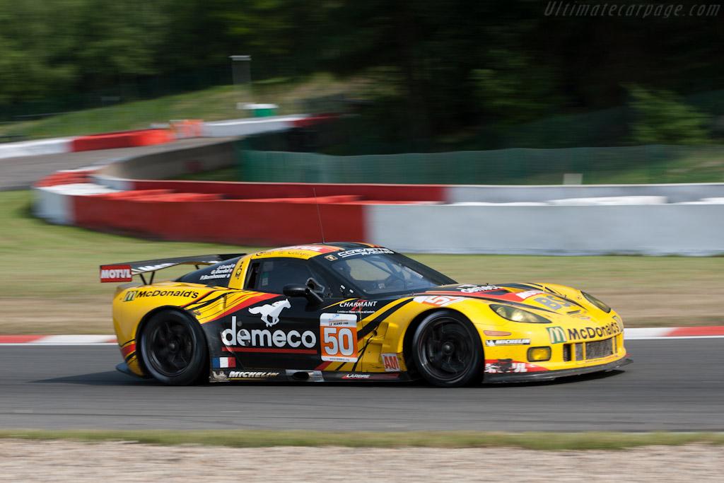Chevrolet Corvette C6.R GT2 - Chassis: 001  - 2011 Le Mans Series Spa 1000 km (ILMC)